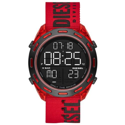 Diesel Erkek Kırmızı Kol Saati (DZ1916)