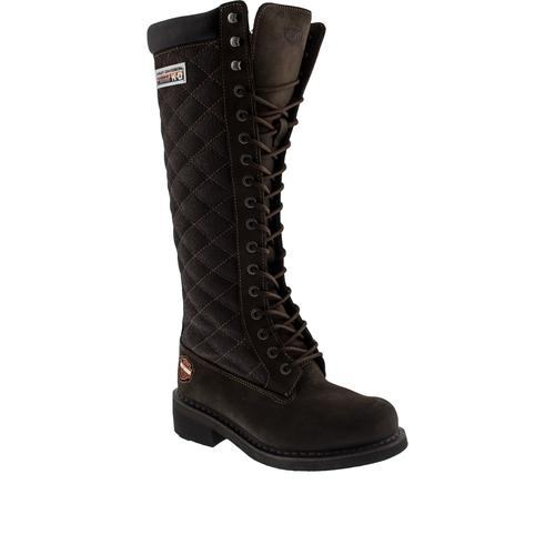 Harley Davidson Rem Koyu Kahverengi Çizme