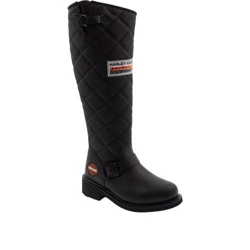 Harley Davidson Laconia Kadın Siyah Çizme (025G100074-B1444)
