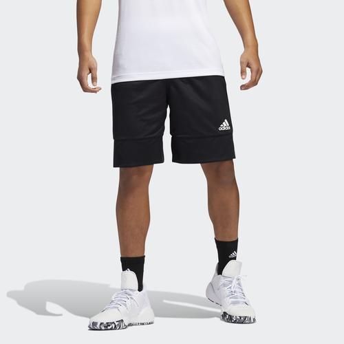 adidas 3G Speed Erkek Siyah Çift Taraflı Şort (DX6386)