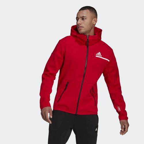 adidas Z.N.E. Erkek Kırmızı Ceket (GQ6210)