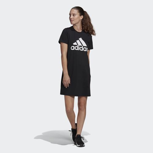 adidas Essentials Logo Kadın Siyah Elbise (GM5588)