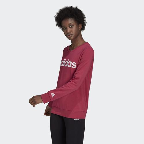 adidas Sudadera Essentials Logo Kadın Pembe Sweatshirt (GL0764)
