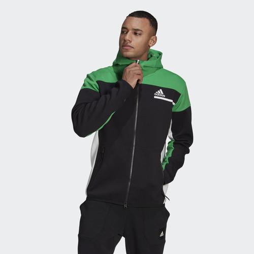 adidas Z.N.E. Erkek Siyah Ceket (GN6832)