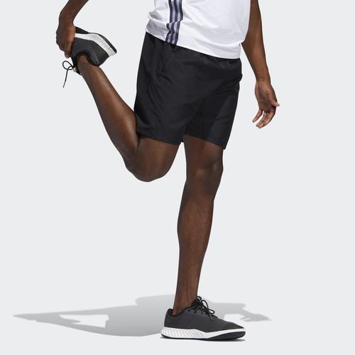 adidas 3-Stripes 8-Inch Erkek Siyah Şort (FM2146)