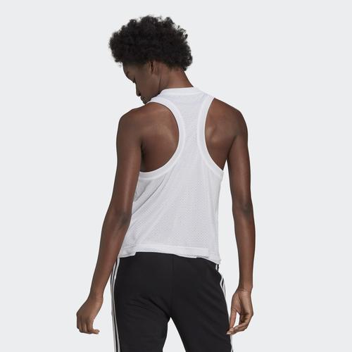 adidas Sportswear Double-Layer Mesh Tank Kadın Beyaz Atlet (GL9535)