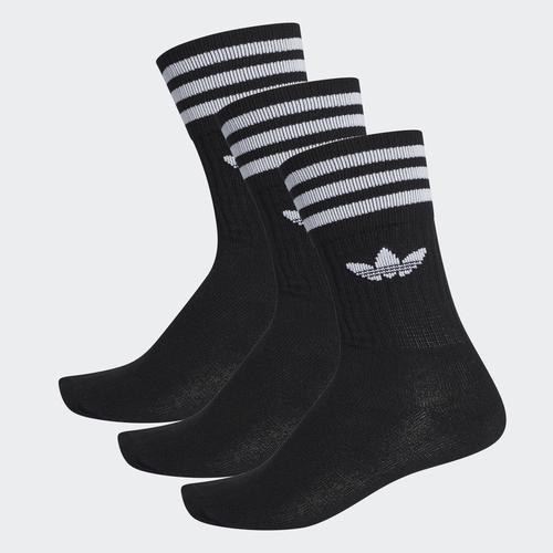 adidas Solid 3'lü Siyah Çorap (S21490)