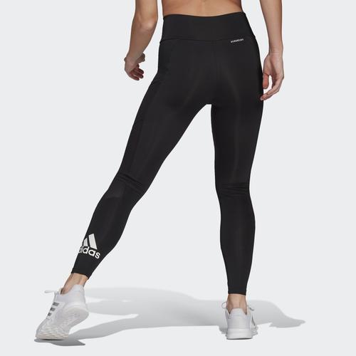 adidas Designed To Move Big Logo Kadın Siyah Tayt (GL4028)