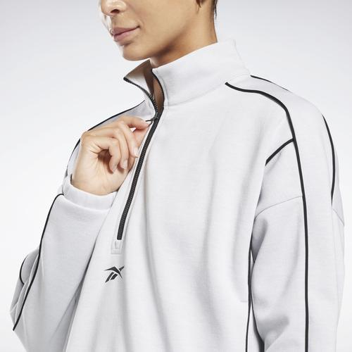 Reebok Workout Ready Kadın Beyaz Sweatshirt (GI6838)