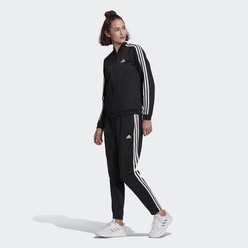 adidas Essentials 3-Stripes Kadın Siyah Eşofman Takımı (GM5534)