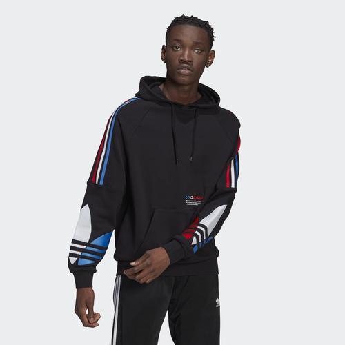 adidas Adicolor Tricolor Erkek Siyah Sweatshirt (GN4446)