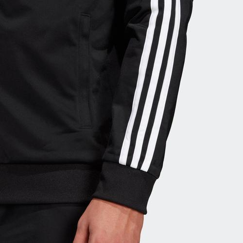 adidas Essentials 3S Erkek Siyah Ceket (DQ3070)