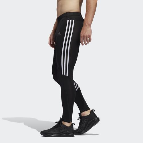 adidas Run It 3 Bantlı Erkek Siyah Tayt (ED9295)