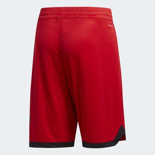 adidas Badge of Sport Erkek Kırmızı Şort (DX6744)