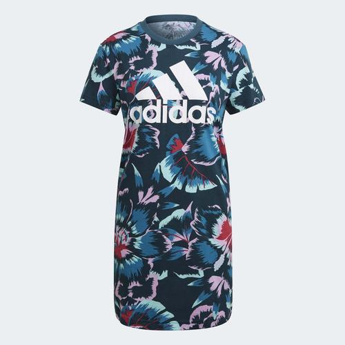adidas Farm Rio Floral Print Kadın Elbise (GU0952)