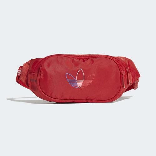 adidas Adicolor Primeblue Kırmızı Bel Çantası (GN8886)