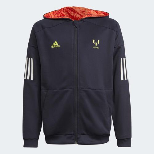 adidas Messi Football-Inspired Çocuk Mavi Ceket (GM8998)