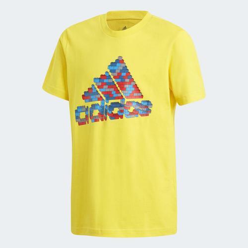 adidas x Classic LEGO® Graphic Çocuk Sarı Tişört (GP3334)