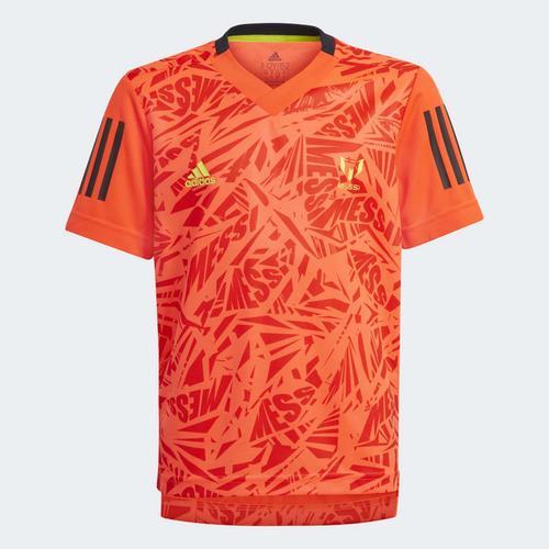 adidas Messi Football-Inspired Iconic Çocuk Kırmızı Forma (GM8997)