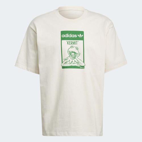 adidas Kermit Beyaz Tişört (GQ4152)