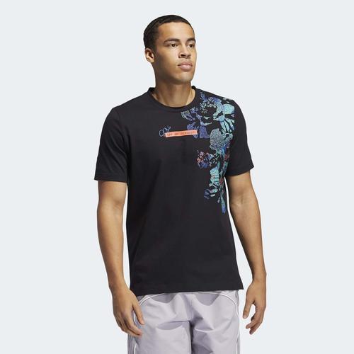 adidas Harden Vol. 5 Erkek Siyah Tişört (GU0503)