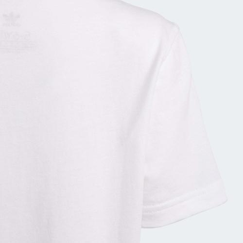 adidas Camo Print Çocuk Beyaz Takım (GN4123)