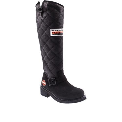 Harley Davidson Laconia Kadın Siyah Çizme (025G100074-B1427)