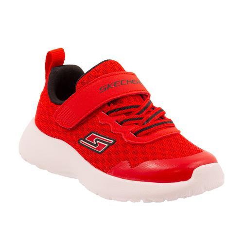 Skechers Dynamıght-Hyper Torque Çocuk Kırmızı Spor Ayakkabı (97774N-RDBK)