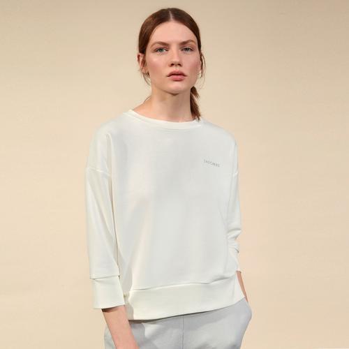 Skechers Lw Fleece Kadın Beyaz Sweatshirt (S211281-100)