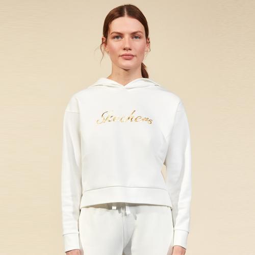 Skechers 2XI-Lock Kadın Beyaz Sweatshirt (S211298-100)