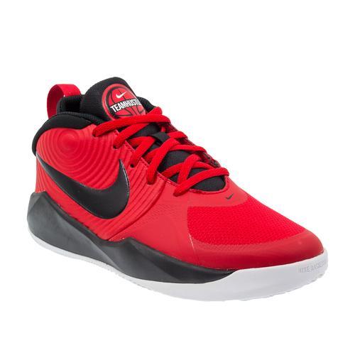 Nike Team Hustle Çocuk Kırmızı Basketbol Ayakkabısı (AQ4224-600)