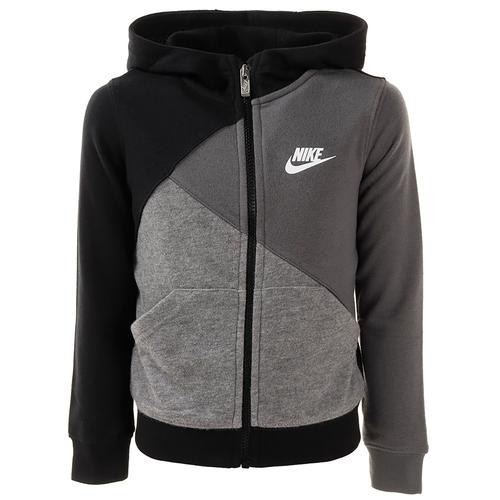 Nike Sportswear Little Çocuk Siyah Ceket (86F980-023)