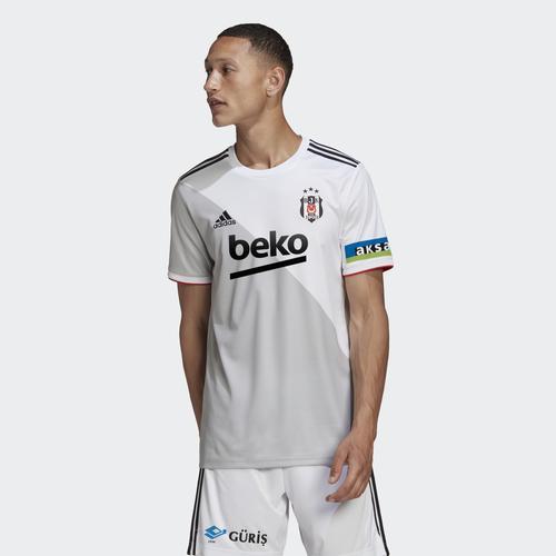 adidas Beşiktaş JK 20/21 Erkek Beyaz İç Saha Forması (FR4089)
