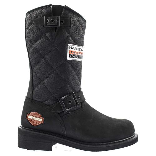 Harley Davidson Laconia Kadın Siyah Çizme
