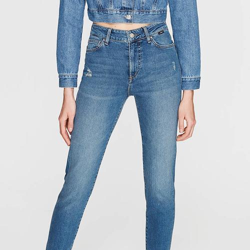 Mavi Cindy Vintage Str Kadın Mavi Pantolon (100277-21870)
