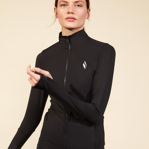 Skechers Micro Collection Kadın Siyah Ceket (S211033-001)