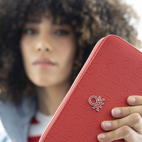 United Colors Of Benetton Kadın Kırmızı Cüzdan (BNT395-KIR)