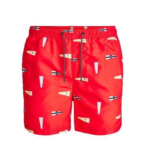 Jack & Jones Bali Erkek Kırmızı Şort (12184794-FS)