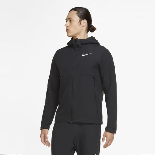 Nike Winterised Woven Training Erkek Siyah Ceket (CU7346-010)