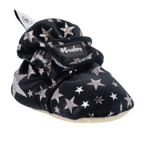 Newborn Bootie Star Bebek Siyah İlk Adım Ayakkabısı (NHW1011-BLK)