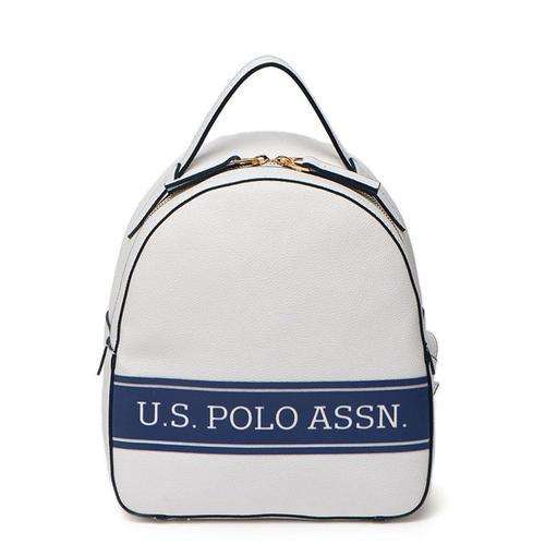 U.S. Polo Assn. Kadın Beyaz Sırt Çantası (US20263-00020)