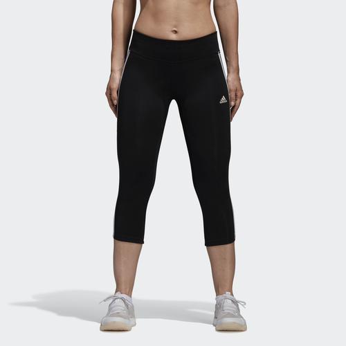 adidas Designed 2 Move Climalite 3-Stripes Kadın Siyah Tayt (CE2048)