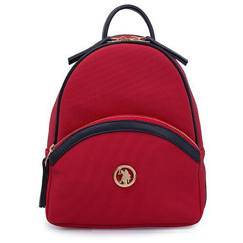 U.S. Polo Assn. Kadın Kırmızı Sırt Çantası (US20300-01935)