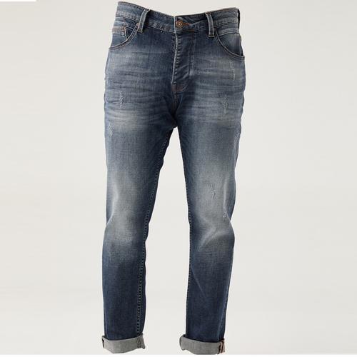 Five Pocket Erkek Lacivert Jean Pantolon (7297-G687)