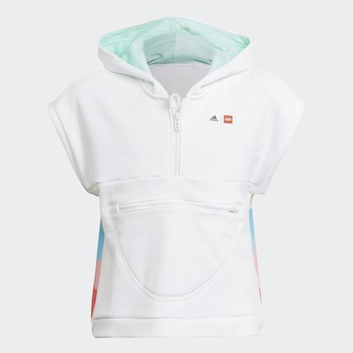 adidas x LEGO® DOTS™ Çocuk Beyaz Tişört (GN8853)