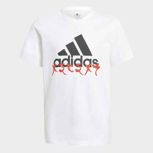 adidas x LEGO® NINJAGO® Graphic Çocuk Beyaz Tişört (GJ6488)