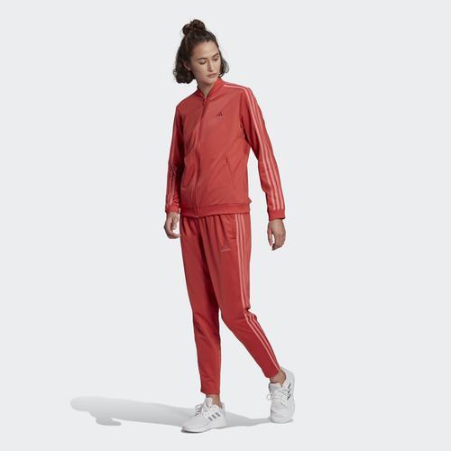 adidas Essentials 3-Stripes Kadın Kırmızı Eşofman Takımı (GM5581)