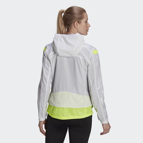 adidas Marathon Translucent Kadın Beyaz Ceket (GN2725)