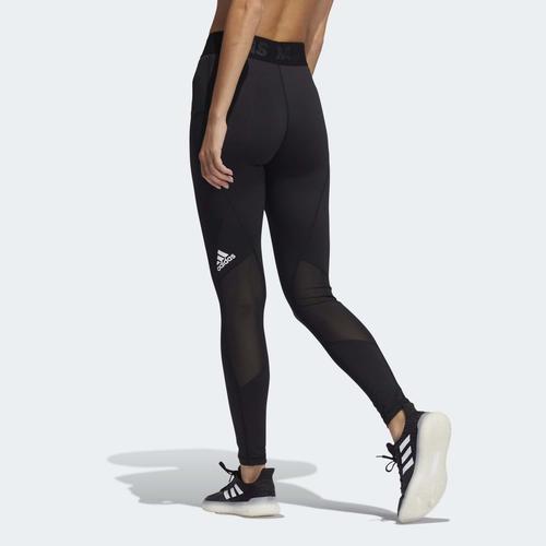 adidas Techfit Badge of Sport Kadın Siyah Tayt (GL0693)