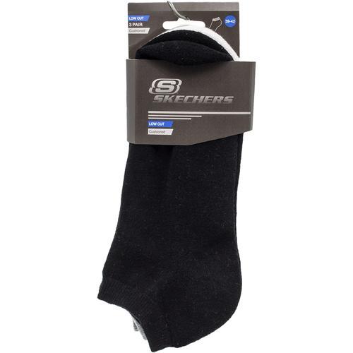 Skechers Padded Low Cut 3 Renk Çorap (S192137-900)